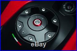 Ducati hypermotard Billet Aluminium Tank Cap by Rizoma 97780081AB SILVER