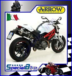 Exhaust Arrow Street Thunder Ducati Monster 796 2010 Dark Line Inox Cap Kat