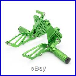 FXCNC Racing Rearset Billet Front Footpegs Foot Rest For DUCATI 749 /999 Green