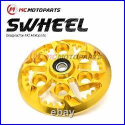 Fit Ducati Sport 750 800 MH900e CNC Billet Gold Swheel Clutch Pressure Plate