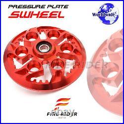 For Ducati 1098 R S 748 916 Sport 750 800 CNC Billet Swheel Pressure Plate 1 pc