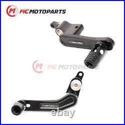For Ducati 959 899 Panigale 1299 1199 Folding CNC Billet Shifter Pedal Lever Set