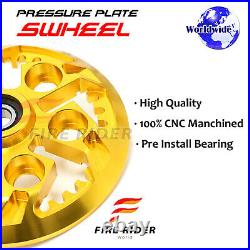 For Ducati Monster 1000 S Multistrada 1000 CNC Billet Swheel Pressure Plate 1 pc