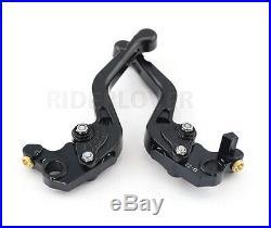 For Ducati Monster 696 695 796 CNC Billet Aluminum Short Brake Clutch Levers