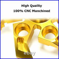 For Ducati Streetfighter SuperSport CNC Billet Gold XStorm Clutch Pressure Plate
