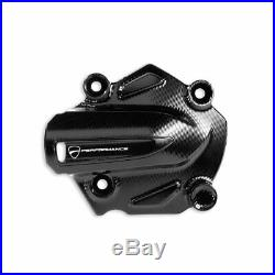 Genuine Ducati Billet Aluminum Water Pump Cover Black 97380411A New Ducati Per