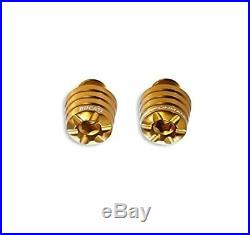 Genuine Ducati Panigale Andodized Billet Aluminum Weights Gold 97380011A