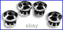 Genuine Ducati Scrambler Billet Aluminum Frame Plugs 97380281B by CNC