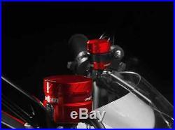 Monster by Ducati BRAKE & CLUTCH RESERVOIRS RED BILLET ALUMINIUM 96180091A