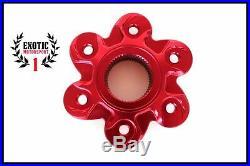New Ducati Cnc Billet Aluminum Rear Sprocket Flange Cover 1098 1098s 1198 1199