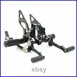 Racing Billet Adjustable Rearsets Footpegs for Ducati 1098S 1098 S brake pedal