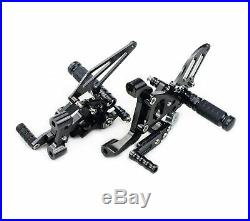 Rear Billet Adjustable Rearset Footrests for Ducati Panigale 899 959 1199 1299