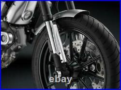 Rizoma Aluminium Billet Fork Tube Guards Ducati Scrambler Icon 2015-2017